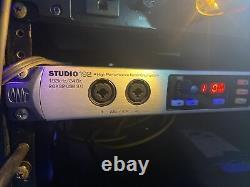 Presonus Studio 192 rackmount sound card recording pro tools studio one