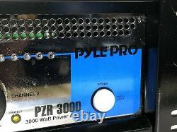Pyle Pro PZR 3000 Sound & Recording 3000 Watt Power Amplifiers 19'' Rack Mount
