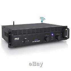 Pyle Pta1000 Amplifier Pro 1000Watt 2 Channel BrgableRack Mount