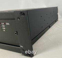 QSC CX204V Direct 70V Professional 4-Channel Power Amplifier 300 WATT Rack Mount