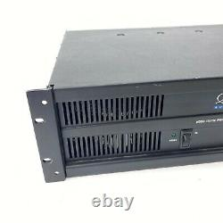 QSC ISA 750 Professional Rack Mount Power Amplifier 750W Tested & Working