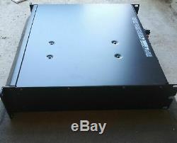 QSC RMX 2450 2 CHANNEL PRO POWER AMPLIFIER RACK MOUNT Works Great Guaranteed