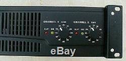 Qsc Rmx 2450 2 Channel Pro Power Amplifier Rack Mount Excellent Condition