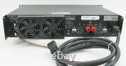 Rack Mount Crest Audio PRO 7200 Professional Power Amplifier 590W /CH @ 8-ohm