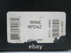 Rack Mount Rane MP-24Z Professional Pro Club DJ Mixer
