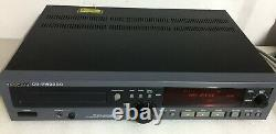 Rack Mount TASCAM CD-RW2000 Professional CD Recorder / Rewriter