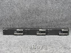 Rack Up RDL RU-SM16 2-Channel Professional Dual Audio Meter WithRack Mount