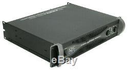 Rackmount QSC PLX-1602 Pro Power Amplifier 300WithCH @ 8 OHMS + Box & Manual #1721