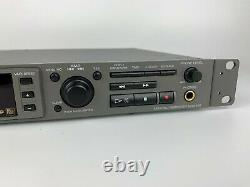 Rackmount Sony Mds-e12 Professional Minidisc Recorder Player Deck
