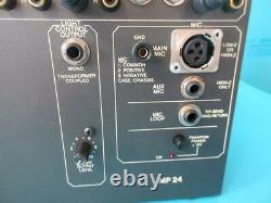 Rane MP-24 Professional Rack Mount Pro Club DJ Mixer Preamplifier Works Great
