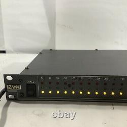 Rane RA 27 RA27 Realtime Analyzer Pro Audio Rack Rackmount AM Y1B
