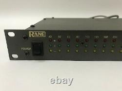 Rane Ra27 Pro Audio Rack Mount Real Time Audio Analyzer Rta System