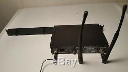 Shure ULXP4 662-698 Mhz-M1 Pro Wireless Microphone Receiver + Rack mount bracket