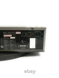 Sony CDP-2700 Professional Compact Disc Player Analog Digital Out with Rackmount