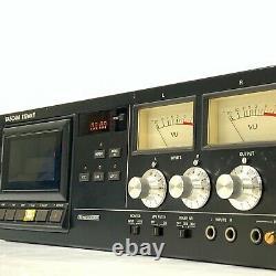 TASCAM 112 MK II Professional Studio Cassette Deck Rack mount WORKING TGJ