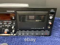 TASCAM 302MKII Dual Cassette Tape Player Recorder Rackmount Pro Audio Equipment