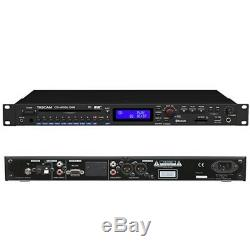 TASCAM CD-400U Pro Rackmount CD/SD/USB/Bluetooth/AM-FM Digital Player / Recorder