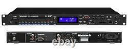 TASCAM CD-400U Pro Rackmount CD/SD/USB/Bluetooth/AM-FM Player / Recorder Mint