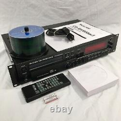 TASCAM CD-RW900MKII Professional Rackmount CD Recorder Player withRemote & 50 CDRs