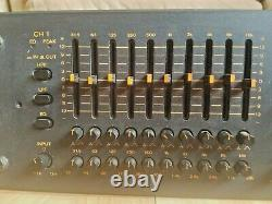 TOA Equalizer E112 Professional for rack mount Made in Japan TESTED AND WORKS