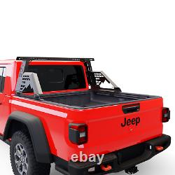 TUWA PRO Adjustable Chase Rack Roll Bar Light Bar Bed Rack Fits Multiple Trucks