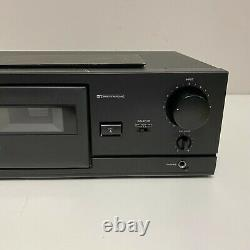 Tascam 102MKII Professional Rack Mount Cassette Deck / Recorder TESTED WORKING