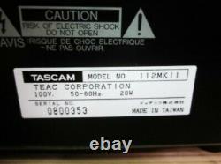 Tascam 112 MK II Professional Studio Cassette Deck Rack mount iz142