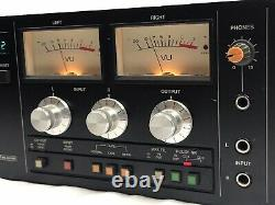 Tascam 112 Rack Mount 2 Head Cassette Deck HX-Pro Dolby B+C