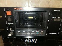 Tascam 112 Rack Mount professional Cassette Deck HX-Pro Dolby B+C