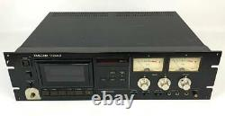 Tascam 112MKII Partially working products Professional Cassette Deck Rack Mount