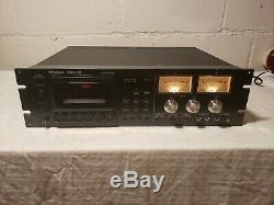 Tascam 122 Mklll Professional 3 Head Cassette Deck Rack Mount Serviced