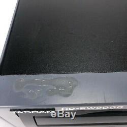 Tascam CD-RW2000 Rewritable Professional Rack Mount CD Recorder