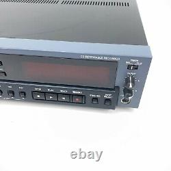 Tascam CD-RW901SL Rack Mount Professional CD Digital MultiTrack Recorder Tested