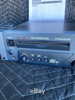 Tascam CD-RW901SL Rack Mount Professional CD Digital Multitrack Recorder