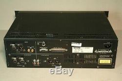 Tascam MD-801R Professional Studio MiniDisc MD Recorder Player Rackmount
