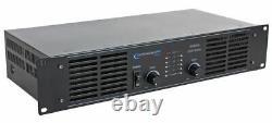 Technical Pro AX2000 2-Channel 2000 Watt Professional Power Amplifier Rackmount