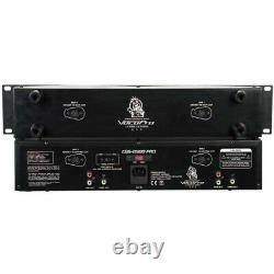 VOCOPRO CDG-8900 PRO Dual Tray Rackmount KJ/DJ CD Players