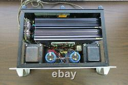 Very Rare Early BGW Professional Model 500R Rack Mount Amplifier New Caps As-Is