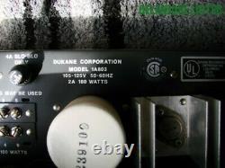 Vintage DUKANE Corp. Model 1A803 PA 180W AMP Amplifier Rack Mount MUSIC PRO