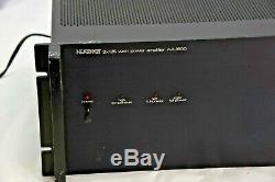 Vintage Heathkit Pro Audio Rack Mount AA-1600 Amplifier 2 x 125 watts