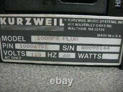 Vintage Kurzweil 1000PX Plus Professional Expander, Sound Module, Rack-Mount