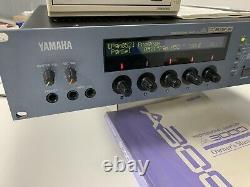 Yamaha A3000 Professional Rackmount Studio Sampler With Manual And External CDRW