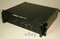 Yamaha P2500 Professional Power Amplifier Amp Rack Mount