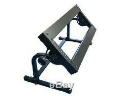 3u 19 \ ' Acier Pour Rack Support Pour Fixation Dj Mixer / Pro-stand Djst-al3w Noir
