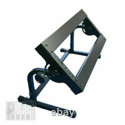 3u 19' Steel Rack Mount Stand Pour Dj Mixer / Pro-stand Djst-al3w Black Music