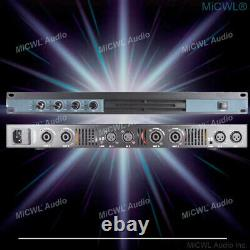 4 Canal 6400 Watts Professional Dj Pa Power Amplificateur Rack Mount 6400w Micwl