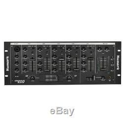 5 Canaux Dj Rack Mixer Stéréo Console De Mixage Professionnelle Us Plug P4i7