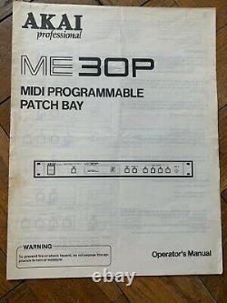 Akai Professional Me30p MIDI Patchbay