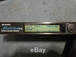 Alesis Midiverb 4 Effets Pro Audio Switchs Rackables Vitesse Withac Adaptateur