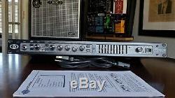 Ampeg Svp Pro Bass Guitar Rackmount Tube Préamplificateur Mint! Livraison Gratuite